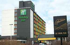 The Board of Aldermen resolved to seek sanctions against Holiday Inn after reviewing complaints by area residents and law enforcement officials regarding disturbing incidents taking place there.~Photo by Bobbie Toner