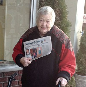 The Somerville News Person of the Week, Jeanette Wiltshire.