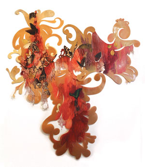 """The Flowering"" by Resa Blatman will be exhibited at the Nave Annex's first show."