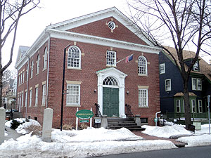 Hoping for big things at the Somerville Museum.~Photo by Terence Clarey