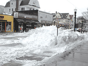 "Snow removal management and ""etiquette"" are on the minds of city leaders in the wake recent blizzard."