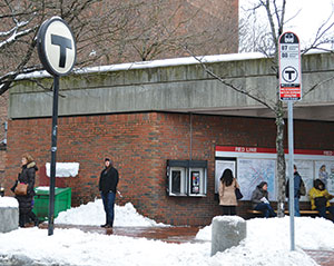 The MBTA is faced with some unappealing choices in order to remain solvent. ~Photo by Harry Kane.