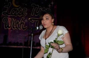 At the end of the show, there was a time for healing. Roses were available for dedication. Illiana Rivera is the first to dedicate hers after Tina Matteo kicks off the healing segment of the show.