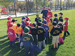 Make way for the little ones. Little League baseball is off and running for this years crop of ready-to-play kids.