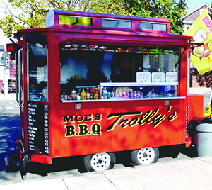 City urges move to 'grandfather' previous food truck vendors. ~Photo by Harry Kane.