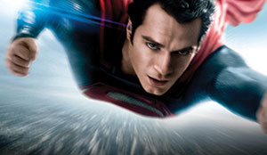 The 'Man of Steel' flies daily at The Somerville Theatre.