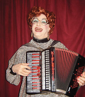 Lady Kielbasia will be hosting this year's Squeezebox Slam concert.