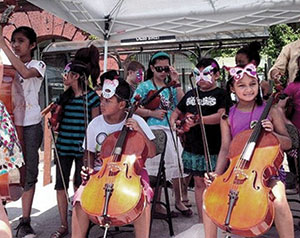 The young gifted musicians of El Sistema will be entertaining on Saturday, July 20.