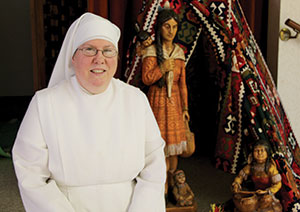 A Jubilee celebrating 25 years of devoted service was held in honor of Sister Kateri at the Jugan Convent last week.