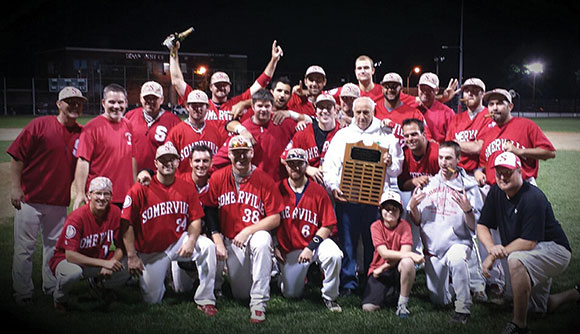 The Somerville Alibrandis Baseball team is the 2013 Yawkee League champion once again.